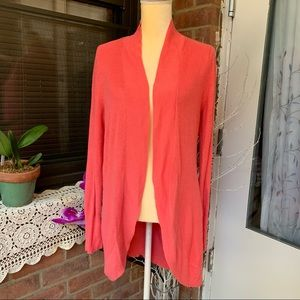And Ea Wy Women's Sz XL Orang Cardigan Open Front
